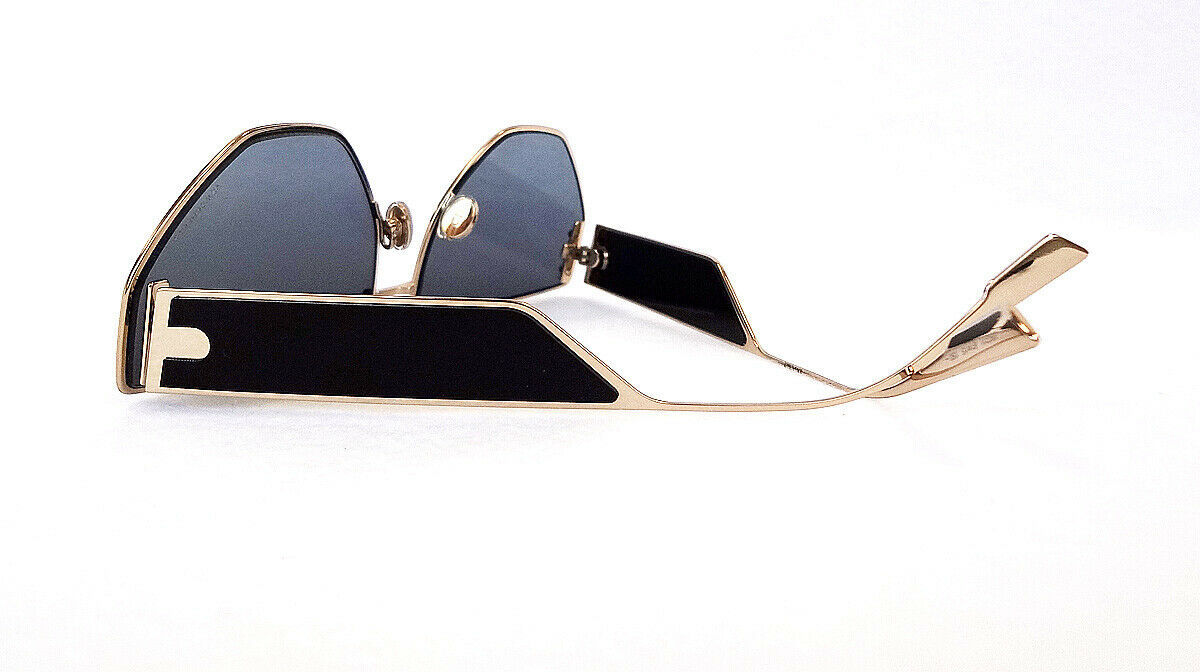 Dior Women's Sunglasses DIORCLAN2 J5G Gold/Black 61-15-150 MADE IN ITALY - New!