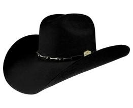 Men's Western Cowboy Hat El Señor de los Cielos 50X Color Black Horma Horse - €73,77 EUR