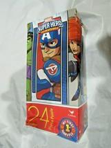 "MARVEL Super Hero Adventures 24 Piece Puzzle 11""x15"" New DAMAGED Box! - $8.99"