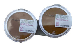 MAYBELLINE SUPER STAY FULL COVERAGE POWDER FOUNDATION #355 Coconut New S... - $16.19
