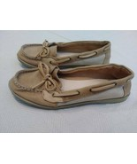 American Eagle Womens Loafer Boat Shoes Flats Size 7 Tan - $9.90