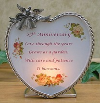 BANBERRY DESIGNS 25th Wedding Anniversary - Silver Anniversary Poem and ... - $23.80
