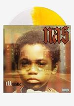 NAS - Illmatic Exclusive Limited Edition Clear & Gold Split Colored Viny... - $47.99