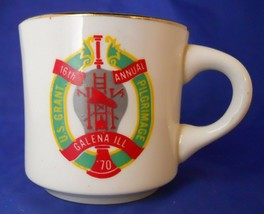 16th Annual Galena ILL.  U.S. Grant Pilgrimage B.S.A Coffee Mug Cup - $3.50