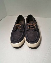 Polo Ralph Lauren Tenen Men's Leather Lace Up Sneakers Shoes Grey - $12.99