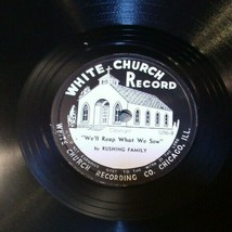 White Church Record  # 1096  AA-191720F Vintage Collectible