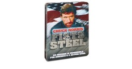 Chuck Norris Fists of Steel  3 DVD Tin Gift Set - $10.50