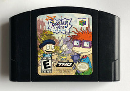 ☆ Rugrats in Paris The Movie (Nintendo 64 2000) AUTHENTIC N64 Black Game... - $9.50
