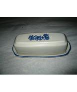 Pfaltzgraff Yorktowne Butter Dish With Lid- Top Design - $5.00