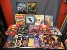 Advanced Dungeons And Dragons Vintage Guide Manual Module Etc Lot - $890.99