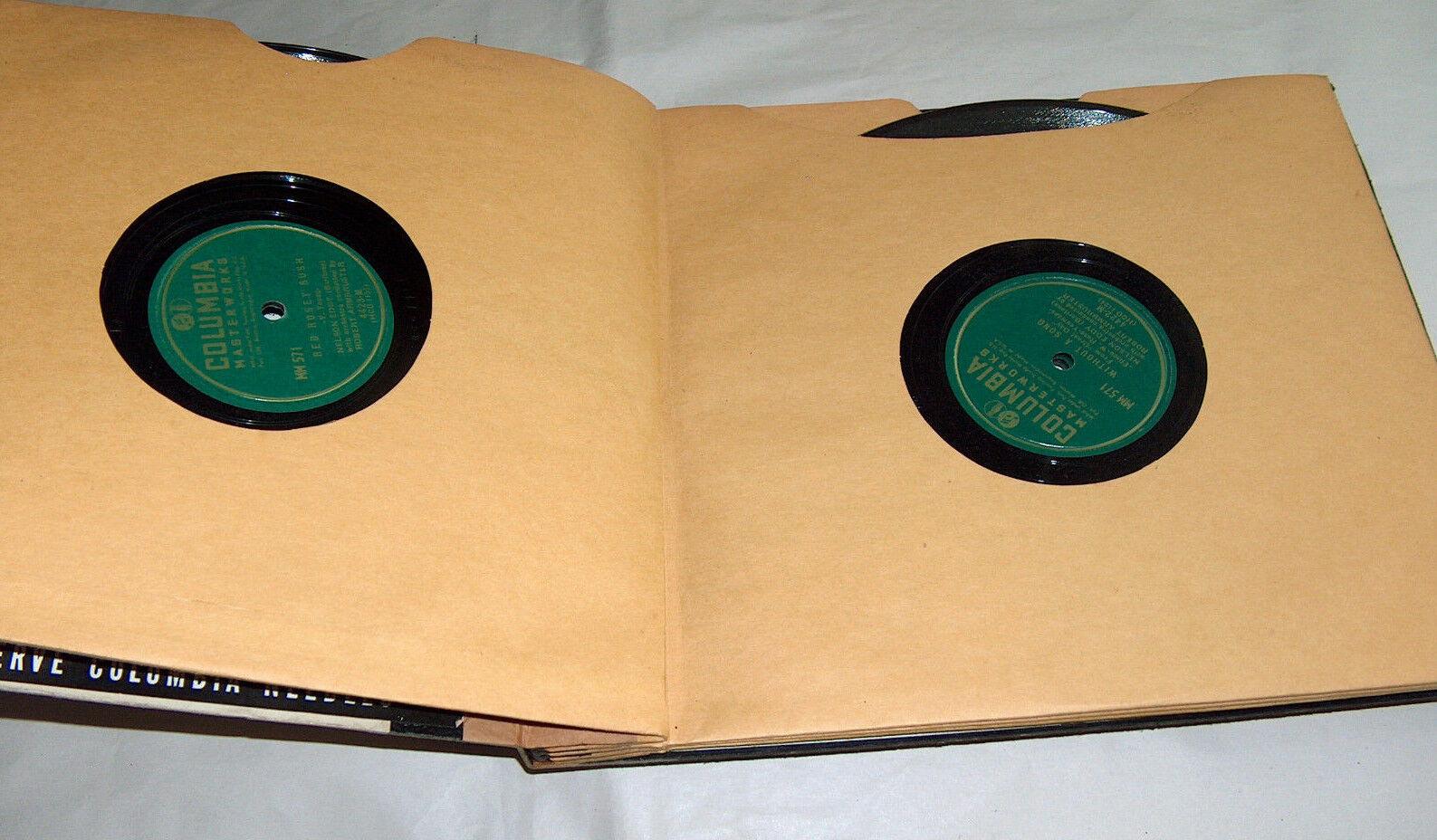 Columbia Masterwork Record Eddy Nelson par Demande Favorite Songs Ensemble Album