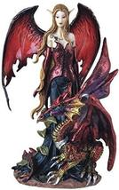 George S. Chen Imports Fairy Collection Pixie with Dragon Fantasy Figurine Figur - $27.30