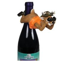 Deer Wine Bottle Hanger Hunter Orange Vest Binoculars New Funny Hunting - £9.91 GBP