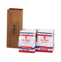 Hav A Hank Classic Cotton 24 One Pack White 16x16 Handkerchiefs With Box image 5