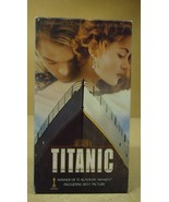 Paramount Titanic VHS Movie  * Plastic * - $6.15