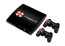 Biohazard Umbrella Style Vinyl Skin For PS3 Slim Skin Sticker for Sony P... - $18.09