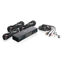 IOGear MiniView 4-Ports HDMI MultiMedia KVM Switch w/Audio GCS1794 - $249.09