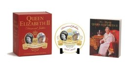 Queen Elizabeth II Diamond Jubilee Commemorative Plate and Book [Apr 17,... - $8.77