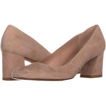 Stuart Weitzman Marymid Talon Bloc Chaussures 965, Couleur Chair, 6.5 US - $213.59