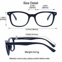 Blue Light Blocking Glasses, Photochromic Brown Sunglasses, Anti UV, Anti Glare  image 8