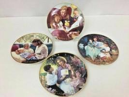 """4 Avon Mothers Day plates 5"""" Porcelain Trimmed 22K Gold Vintage 1998 - 2... - $33.99"""