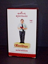 Hallmark Keepsake Office Space Milton Waddams Magic Sound Ornament Used (L) - $16.82