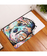 "Colorful Cartoon Dog Print Floor / Door Mat 15.7"" x 23.6"" x .315"" (C) - $29.95"