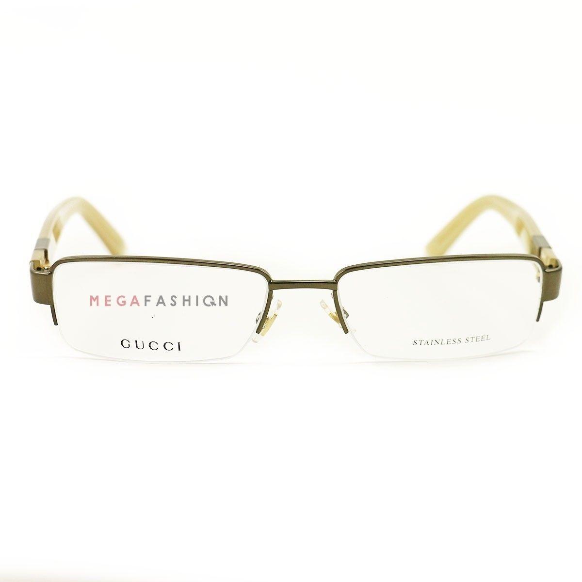 08b64752563 New Gucci Eyeglasses GG 1878 QYQ Brown Amber and 33 similar items