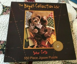 2001 Boyds Collection SEW CUTE Jigsaw Puzzle 550Pc NEW Sealed Ceaco USA ... - $79.13