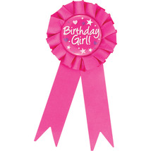 Birthday Girl Award Ribbons, Case of 12 - $38.82