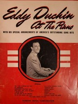 Eddy Duchin At The Piano Special Arrangements Sheet Music Book 1951 No M... - $19.79