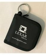 Zippered Keychain Media Storage Case Lexar SD MMC SDHC SDXC Memory Card ... - $4.99