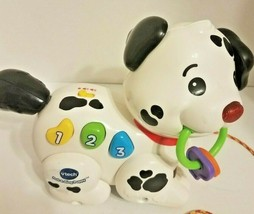 VTech Pull and Sing Puppy Toy Developmental Toy Numbers Toddlers Baby Girl Boy - $9.92