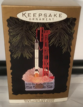 FREEDOM 7 JOURNEYS INTO SPACE ROCKET HALLMARK KEEPSAKE ORNAMENT 1996 VIN... - $29.65