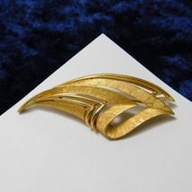 Vintage Crown Trifari Brooch Art Deco Fire Torch Pin Costume Jewellery Jewelry - $24.88