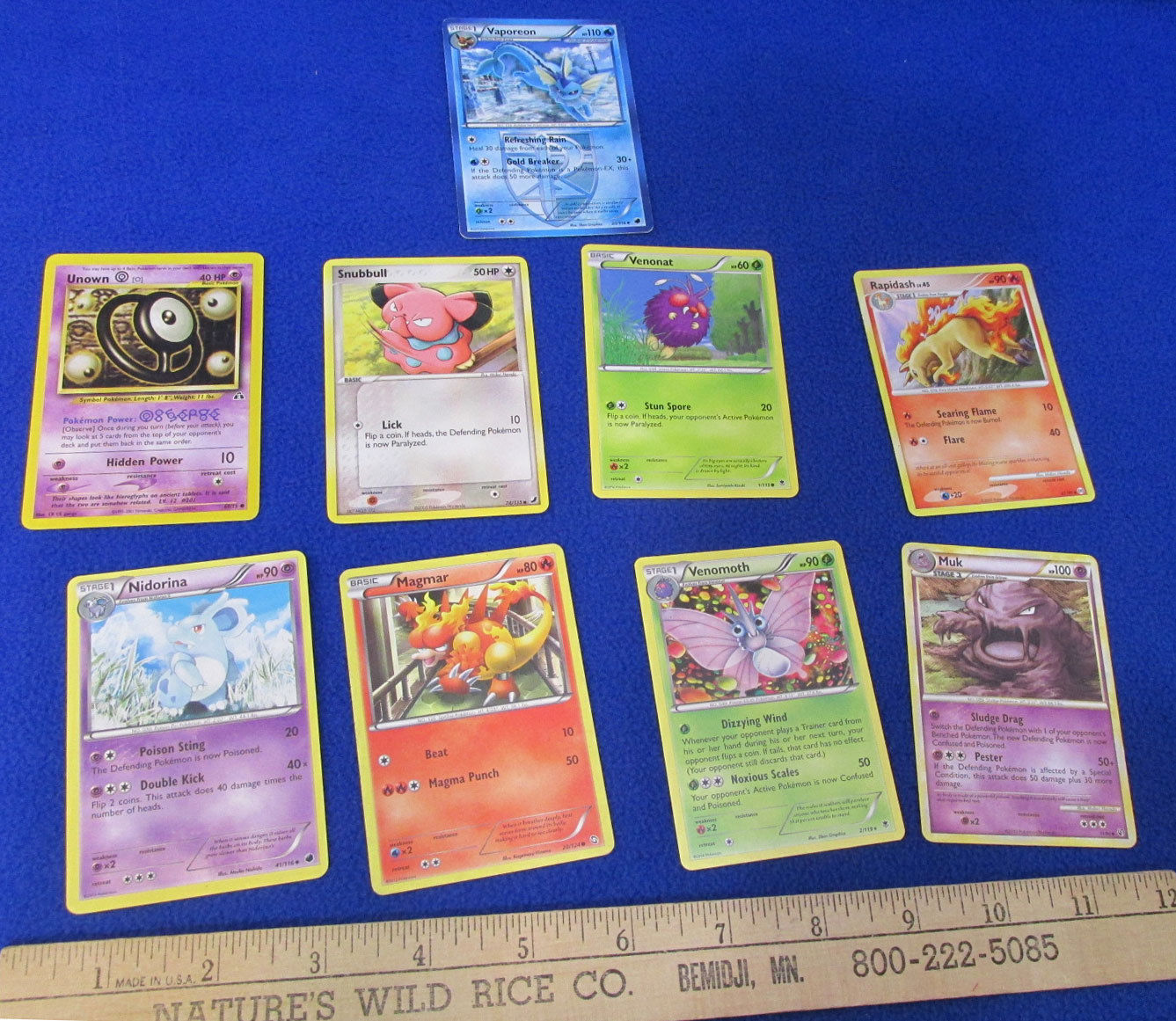 Pokemon Card Game Trading Cards Deck Gligar Zubat Mixed Lot of 21