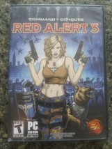 """""""Command & Conquer: Red Alert 3"""" ~  2008~ For PC / DVD Rom ~ EA  - $12.86"""