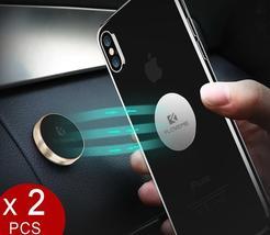 Magnetic Car Phone Holder[2 pack],Universal Wall Desk Metal Magnet Stick... - $4.24