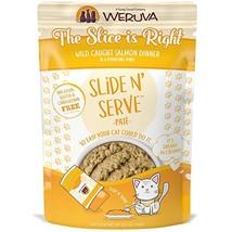 Weruva Slide N' Serve Paté Wet Cat Food, The Slice Is Right Wild Caught... - $19.58