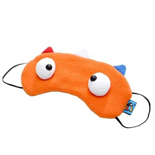 Set of 2 Creative Cartoon Eye Mask Funny Soft Eyeshade, Netherlands Flag Color