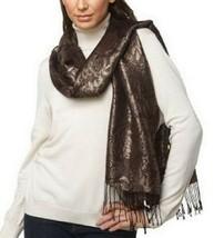 Liz Claiborne New York Damask Pashmina with Fringe Detail - $6.92