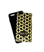 ScriptureArt Mia iPhone 6 Plus Cell Phone Case Cover Black and Gold - $9.99
