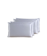 4-Piece Riho 100% Mulberry Silk Pillowcases Silk Pillowshams(76X51cm) - $109.99