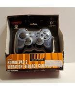 Logitech Rumblepad 2 Vibration Feedback Gamepad Controller. New, sealed.   - $39.00