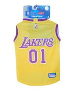 NBA LA Lakers Mesh Dog Basketball Jersey LG - $18.99