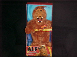 "15"" Talking ALF Plush Stuffed Toy From Melmac With Box & Tags 2002 Fun 4... - $93.49"