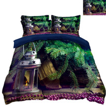 3D Christmas  Xmas 1115 Bed Pillowcases Quilt Duvet Cover Set Single Queen King - $90.04+