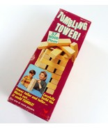 Vintage Tumbling Tower Wood Block Game by Cardinal, Ages 5 and Up - £5.75 GBP