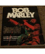 Nice Soft Cover Edition of Bob Marley, Reggae King Of The World, 1998 VGC - $14.84