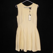NWT BCBG Maxazria Medium Lined Dress Off White Color NEW $368 Sleeveless... - $89.05